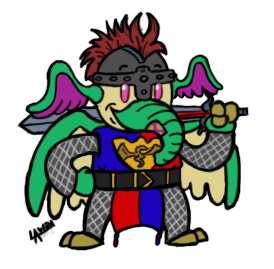 Knight Minihero Commission by AngelCrusher