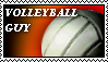 volleyball guy stamp by Krazzulimaii