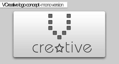 VCG logo concept-mono version