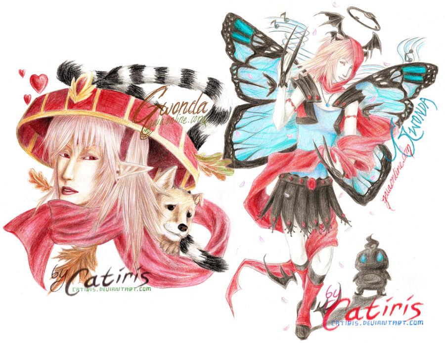 Gwonda:: Gaia Art by Catiris