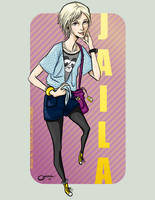 Character Portrait: Jaila by Catiris