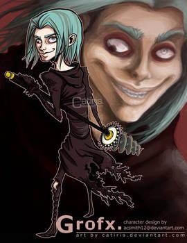 Character Portrait: Grofx