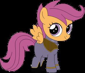 Senior Cadet Scootaloo Dash (2375) by SonicTrekker