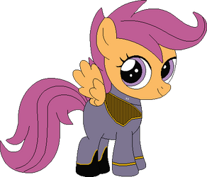 Sophomore Cadet Scootaloo Dash (2374) by SonicTrekker