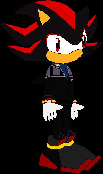 Commander Shadow the Hedgehog (2377) by SonicTrekker