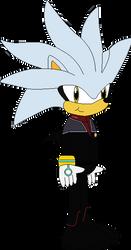 Lt. Commander Silver the Hedgehog (2373) by SonicTrekker