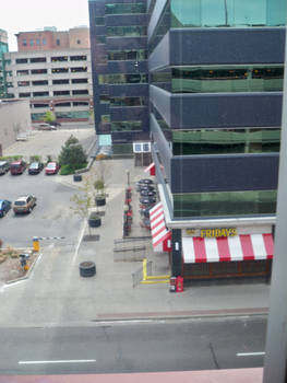 Overlooking T.G.I. Friday's