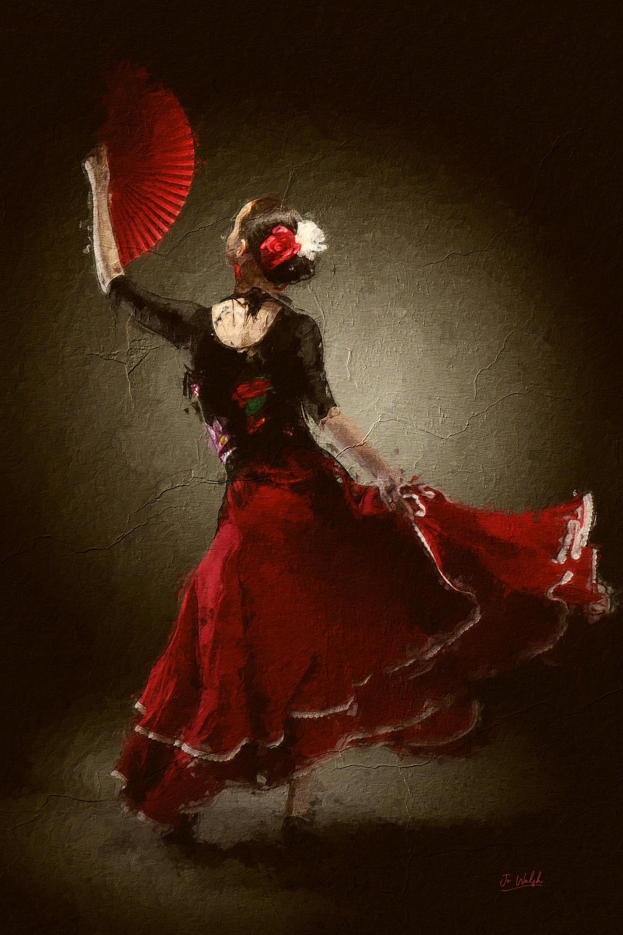 The red fan