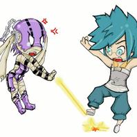 Xelor vs Feca by ArCherry