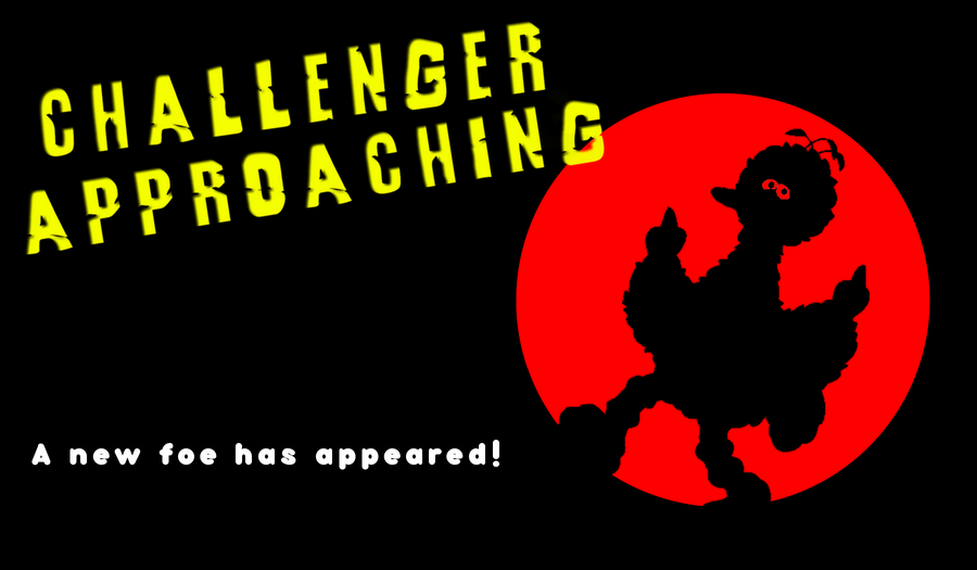 Here comes a new challenger Challenger_Approaching_BigBird_by_NoMoreUniqueNames