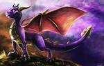 Spyro by CalebP1716