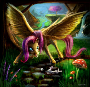 Fluttershy Painting [Request]
