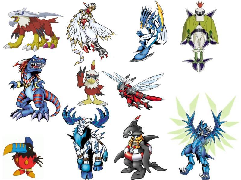 All Hawkmon's armor digivolutions by Petronikus on DeviantArt Gaomon Evolution Chart