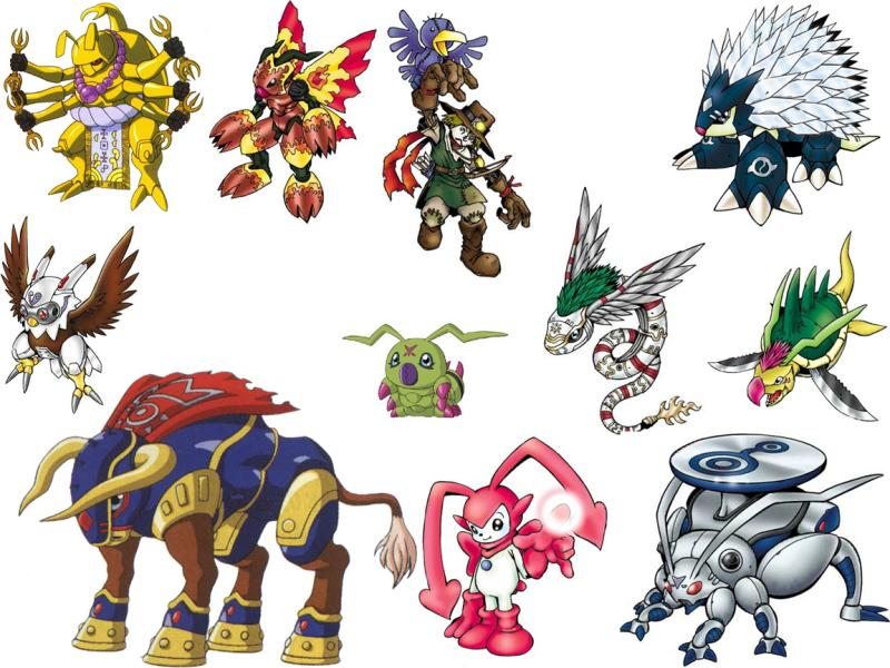 all digimon evolution