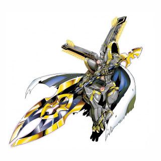Alphamon Ouryuken - Digimon crusader by Petronikus on ...