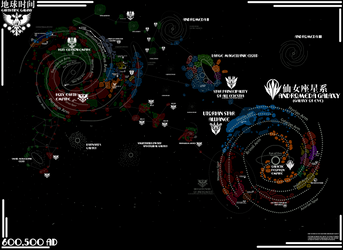Stars of Preeminence Universe Map by Pheasant-One