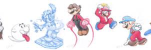 Mario Forms 20-26