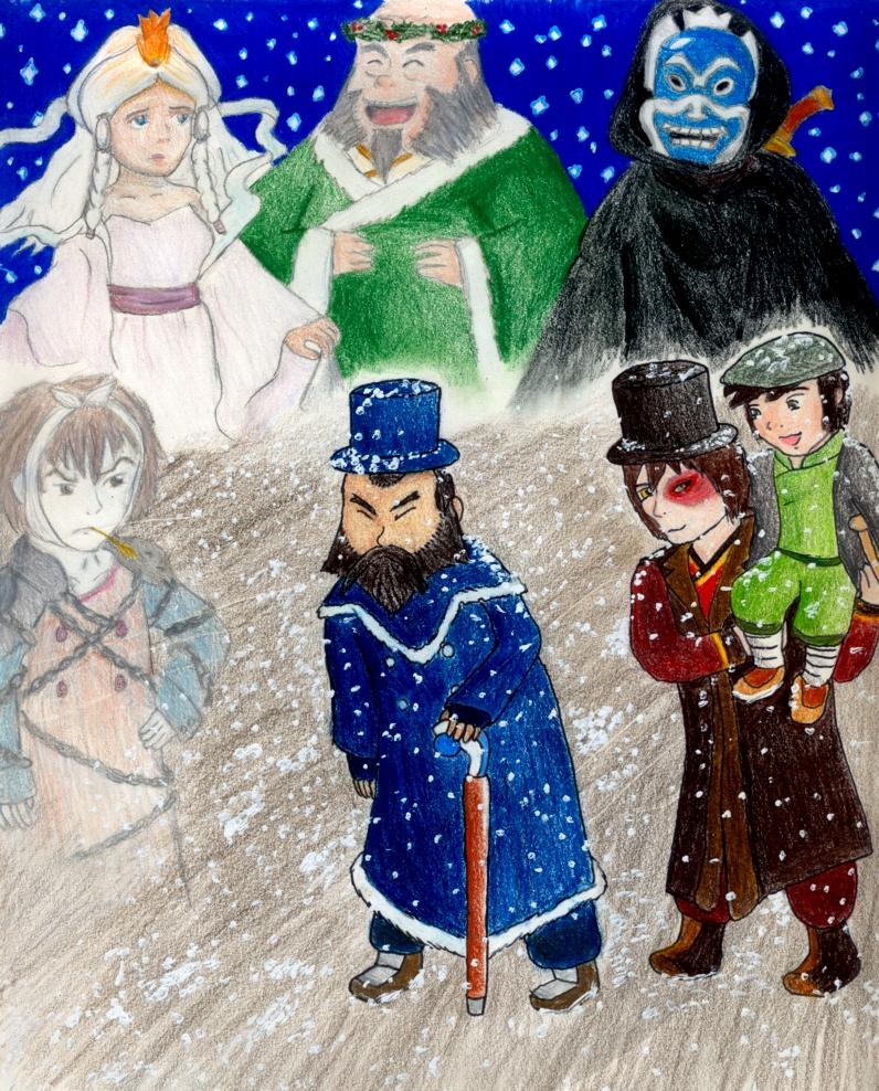 An Avatar Christmas Carol By Eightcrows On DeviantArt