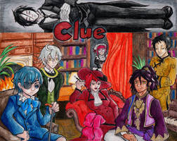 Black Butler Clue by eightcrows