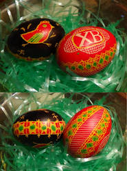 Second attempt at Pysanky by eightcrows