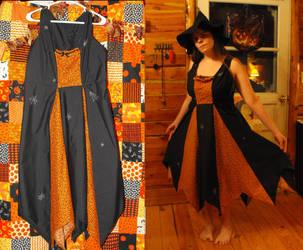 Halloween dress by eightcrows