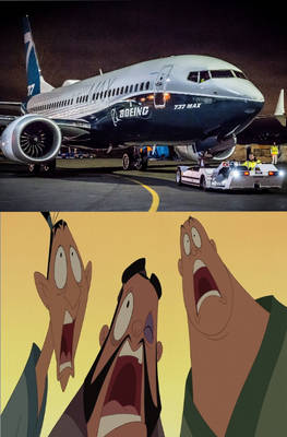 Boeing 737 MAX scares Yao, Ling and Chien Po