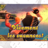 TF2 SPRAY 'Vacances' by ChibiErmiteRaillant