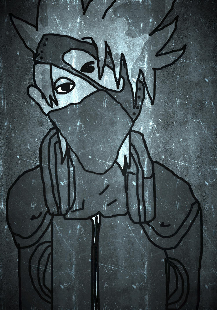 kakashi (another style) by SonadowCinos