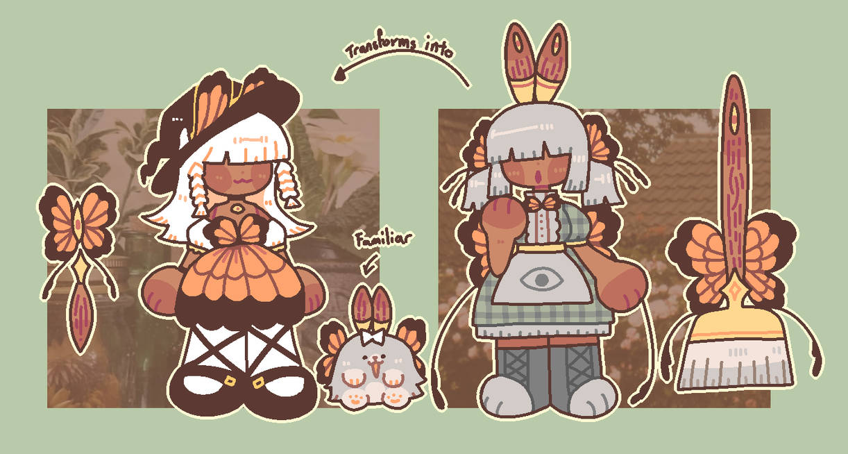 cottagecore witch adopt auction - CLOSED