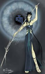 Ulyaoth Sorceress by Selene-Eclipse