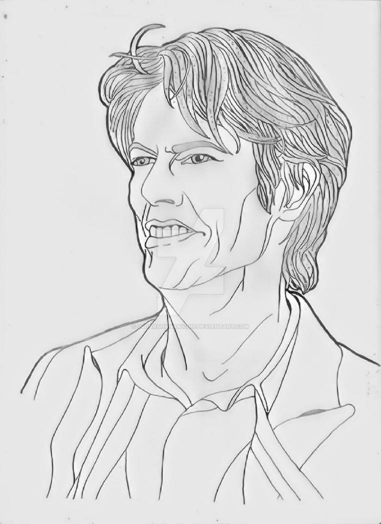 David Bowie by sudarshanarichie