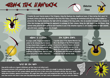 Gong the Hawkeye - Profile Sheet by Fabierex2000