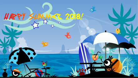 Happy Summer 2018! by Fabierex2000