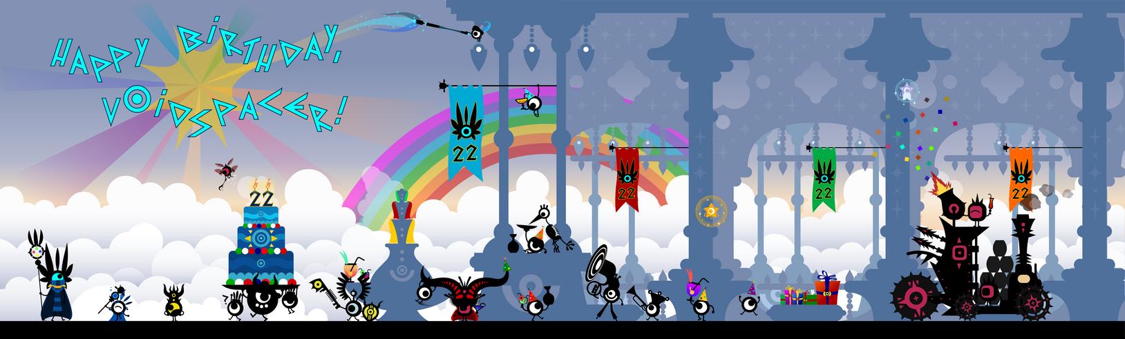 Happy Birthday V0idSpacer! by Fabierex2000