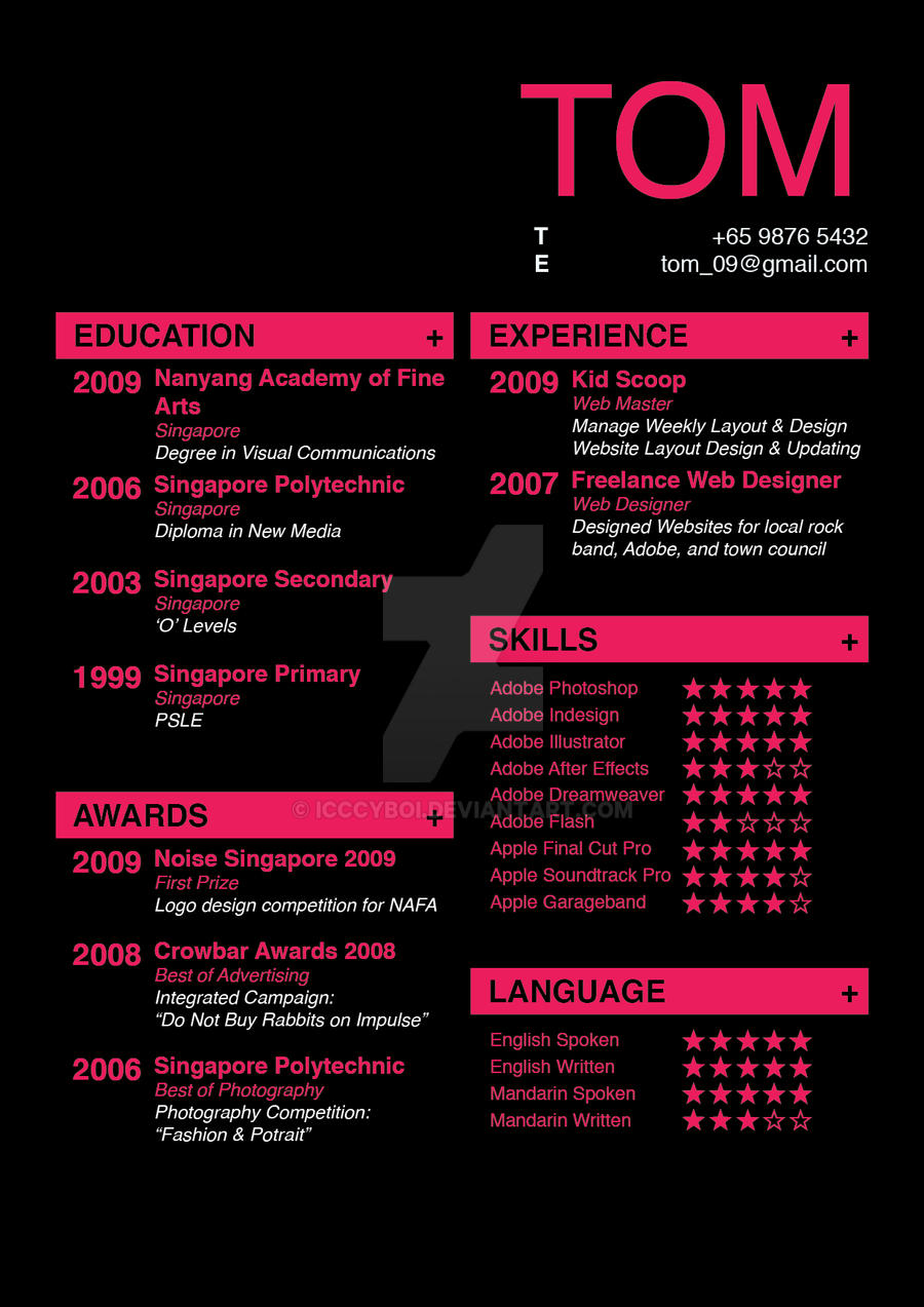 resume design by icccyboi on resume design by icccyboi resume design by icccyboi