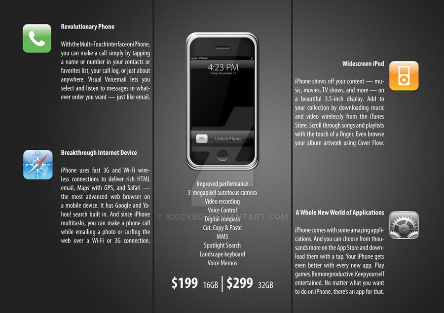Brochure Design Iphone 1 By Icccyboi On Deviantart
