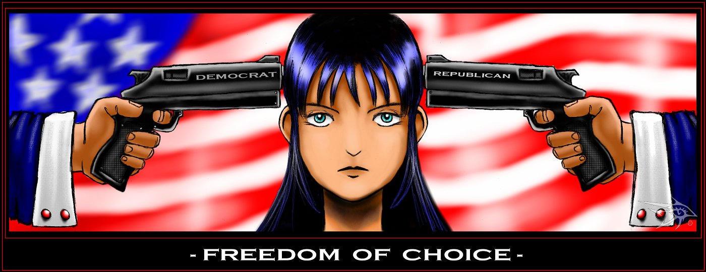 Freedom of Choice by darthhorus