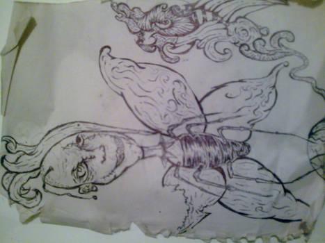 la veganza de la mariposa