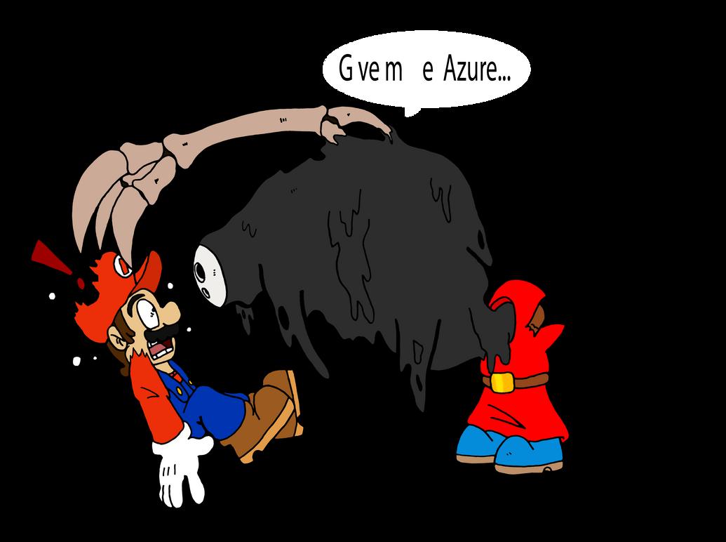 Mario versus...... by Chibi-Tediz