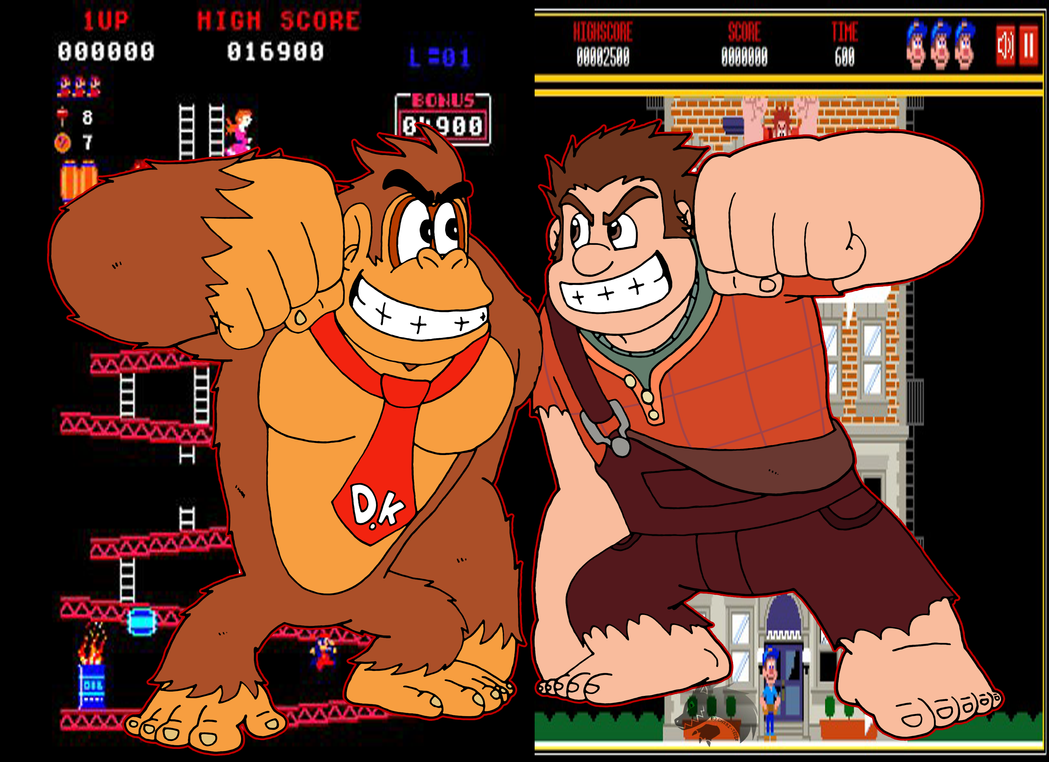 Wreck-It Kong by Chibi-Tediz