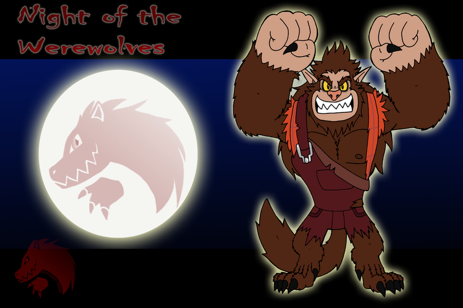 Night of the Werewolves Wreck-it-Ralph by Chibi-Tediz