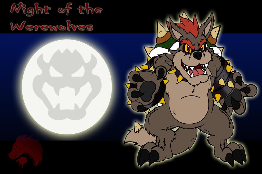 Night of the Werewolves Bowser by Chibi-Tediz