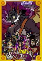 DU September Challenge Voodoo Saga Anthology by ChibiBrugarou