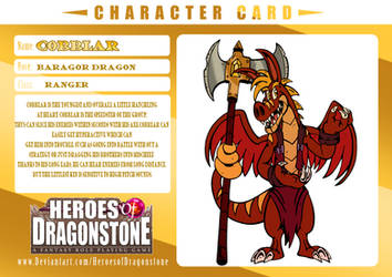 Heroes of Dragonstone:Cobblar by ChibiBrugarou