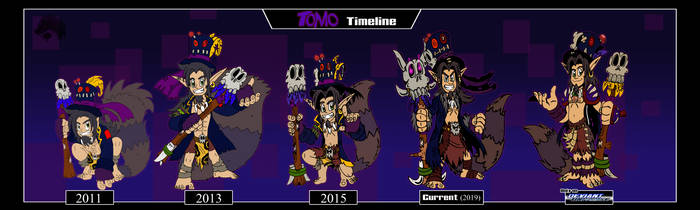 Character Timeline-Tomo by ChibiBrugarou