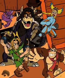 Super DU Bros Tag Battle by ChibiBrugarou