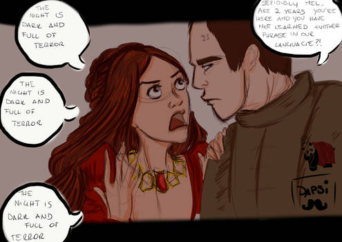 and Melisandre says....
