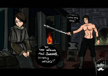you know nothing Gendry: part one by AlexielApril