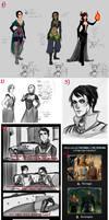 Sketchdump 7:Dragon Age