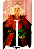 Tarot Card : Commission by AlexielApril